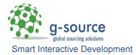 G-Source - Smart Interactive Development